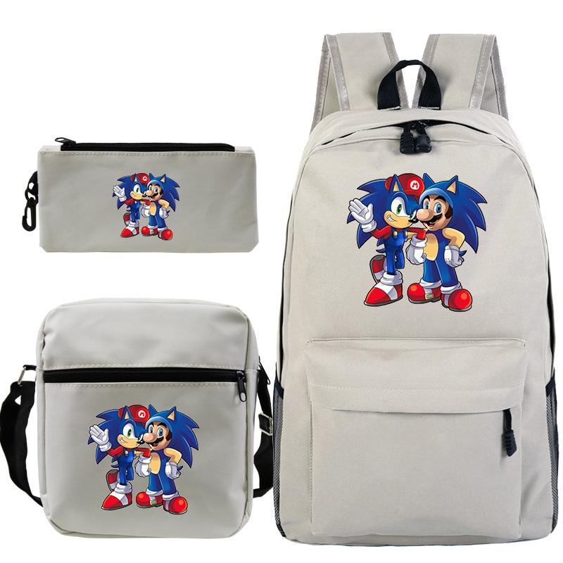 Super Mario Run Print Kids Boys Girls School Backpacks Children Shoulder Bag Cartoon Game Schoolbags For Teenage Mochila