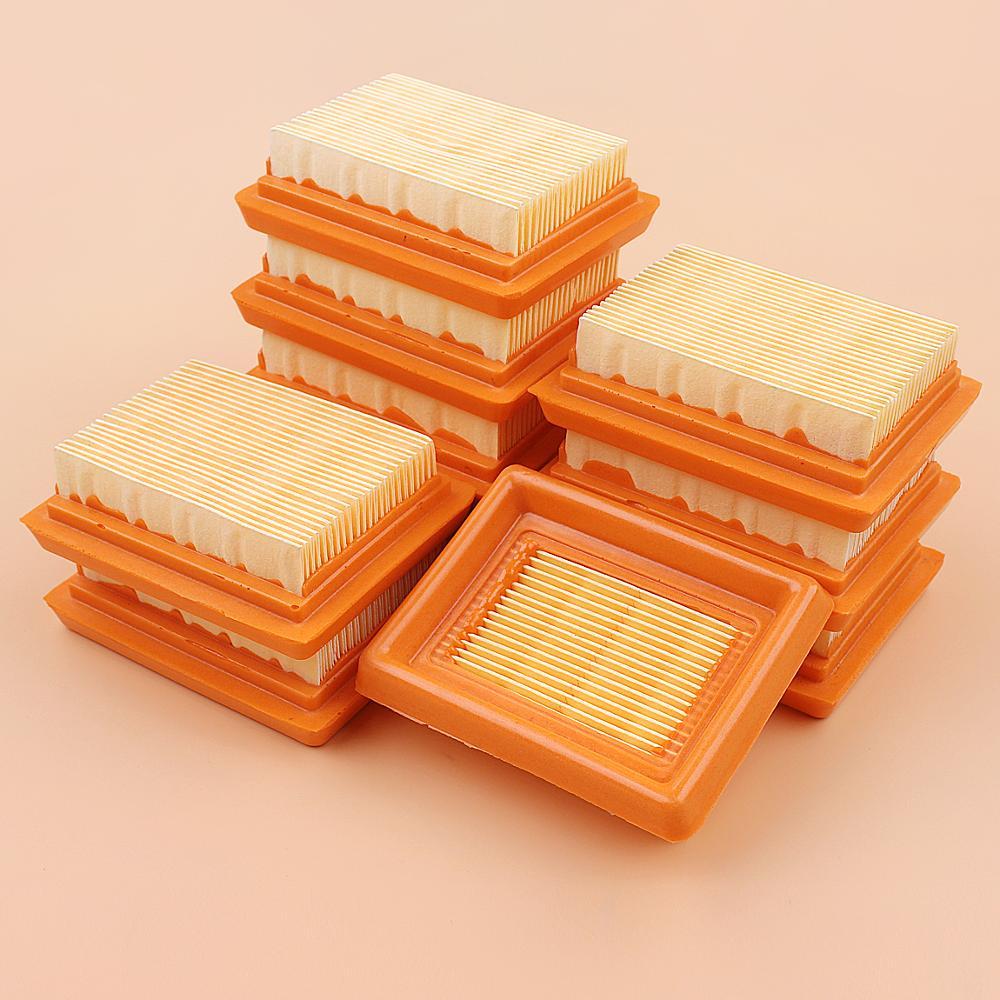 10Pcs/lot Air Filter Cleaner Kit For STIHL FS120 FS200 FS250 FS300 FS350 FS400 FS450 #41311410300 String Trimmer Brush Cutter