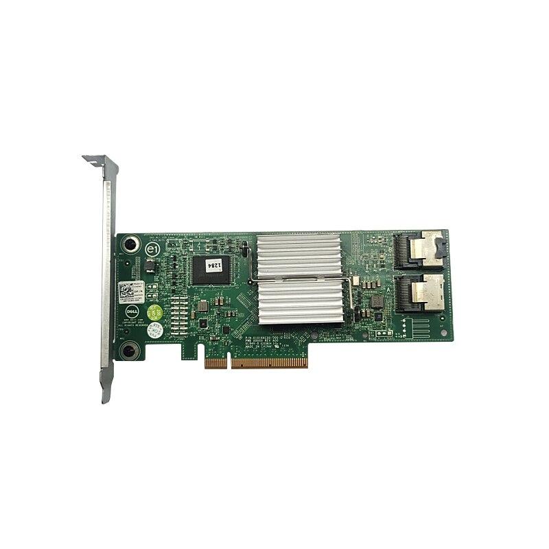 Original 0HV52W 03P0R3 HV52W 3P0R3 For Dell Perc H310 SATA / SAS HBA Dual 6Gbps Internal PCIe x8 RAID