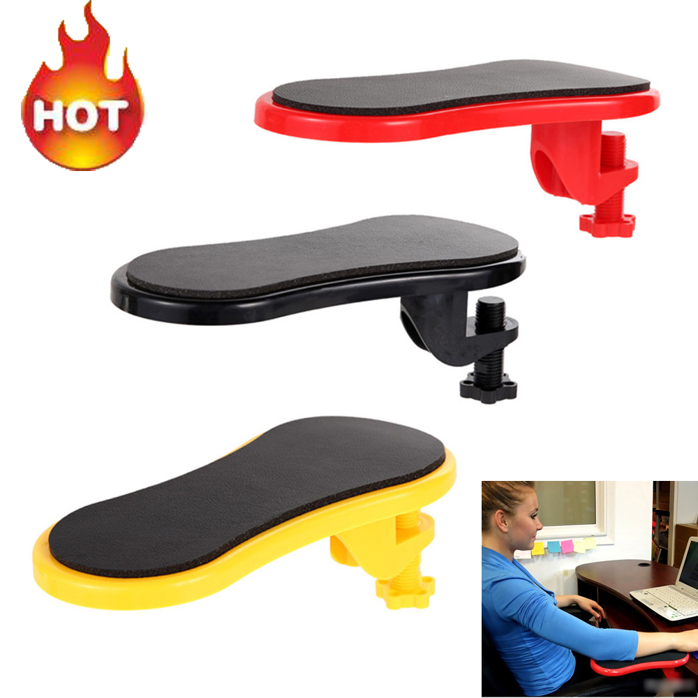 Attachable Armrest Pad Desk Computer Table Arm Support Mouse Pads Arm Wrist Rests Chair Extender Hand Shoulder Protect Mousepad-in Mouse Pads from Computer & Office