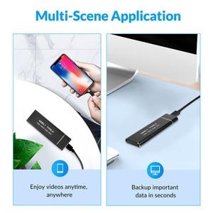 USB Type C M.2 SSD Внешний корпус NVME PCIE M.2 SATA M/B ключ мобильный чехол 10 Гбит/с высокоскоростной мобильный чехол для Windows 7/8 MAC