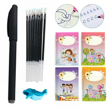 Writing-Book Copybook Educational for Calligraphy Toys Groove Reusable Kid
