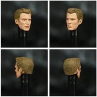 Avengers Endgame Captain America Unmasked with Mjolnir 6inch. 6