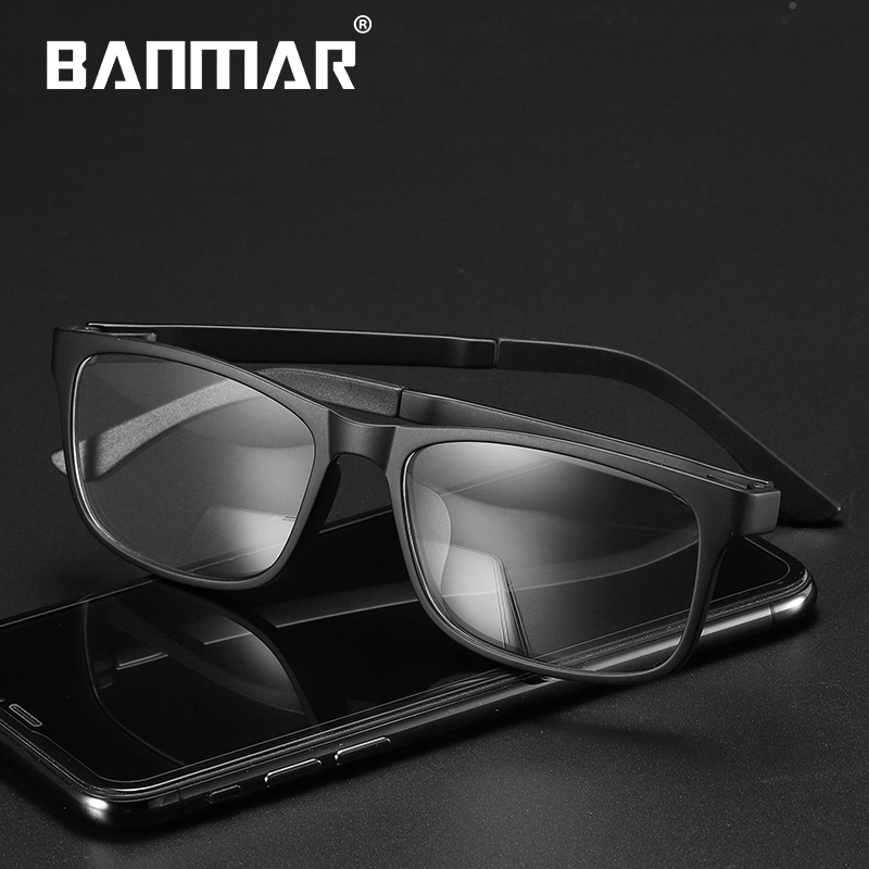 BANMAR New Vintage Men Gaming Glasses ULTEM(PEI) Computer Anti Blue Ray Light Myopia Spectacle Optical Women Men 5504