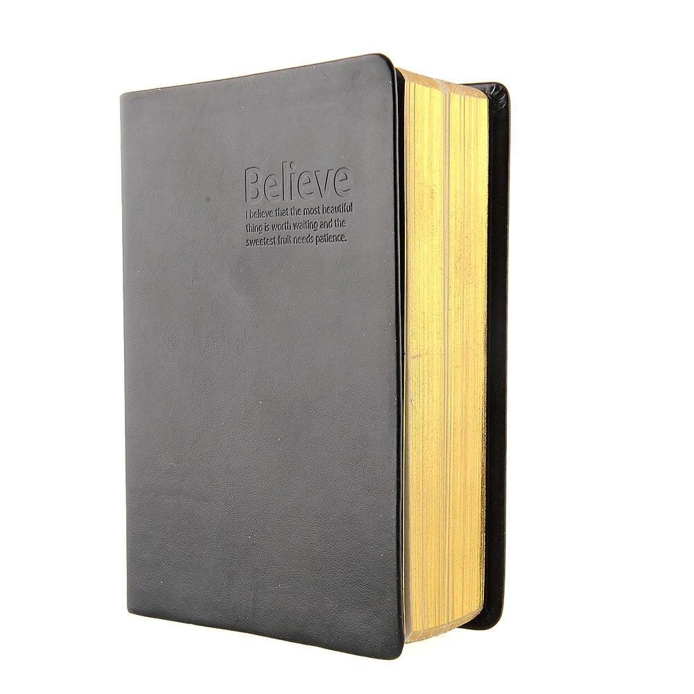 Tinksky Notebook Vintage Blank Notebook Notepad Travel Journal Diary Jotter