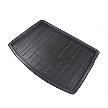 Cargo Liner Boot Tray Rear Trunk Cover Matt Mat Floor Carpet Kick Pad For VW Golf GTI R Mk7 Hatchback 2013 2014 2015 2016 - 2018