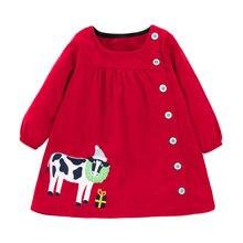 Little maven/модное Брендовое осеннее детское платье для девочек