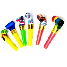 Horn-Whistle Football Fan-Horn Cheer Toys Birthday-Party-Horn Blowing Sports Long Kids