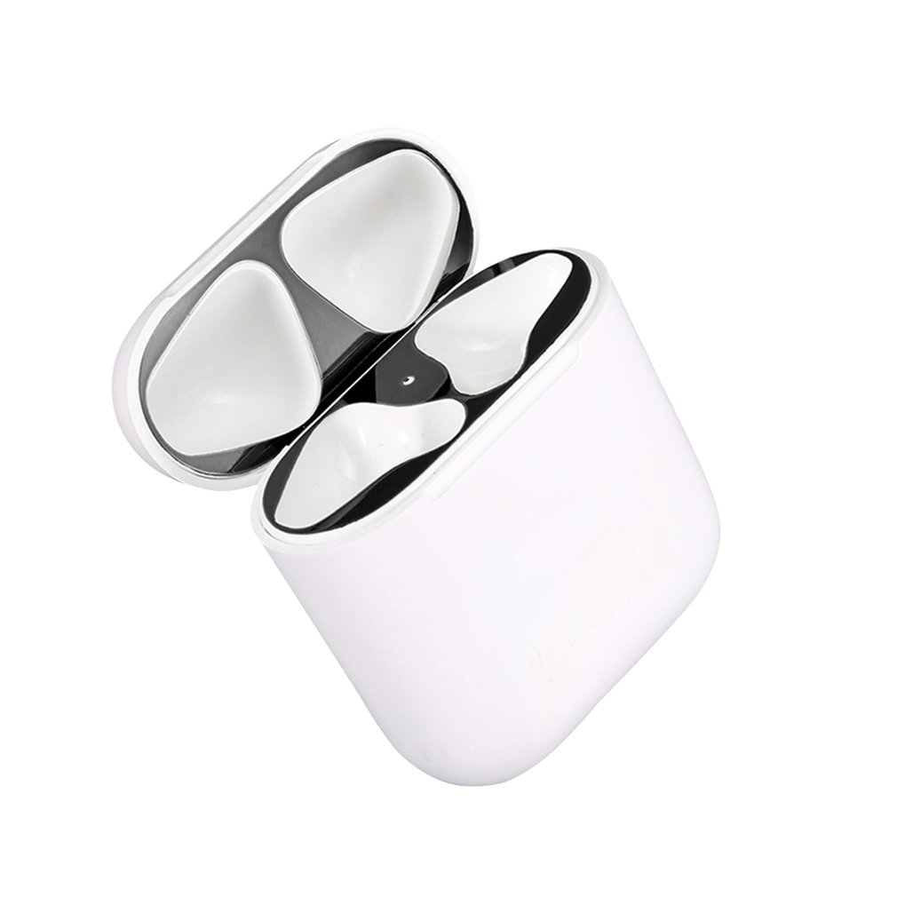 Metal Dust Guard for Apple AirPods Case Cover Accessory Protection Sticker Skin Protecting AirPods from Iron Metal Shavings