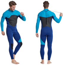 3MM Neoprene Wetsuit Men Full Body Spearfishing Windsurf Surf Suits Snorkeling Diving Suit One Piece Thick Thermal Swimwear цена и фото