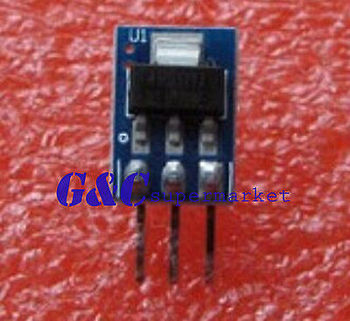 DC 5V to 3.3V Step-Down Power Supply Module AMS1117-3.3 800MA diy electronics image