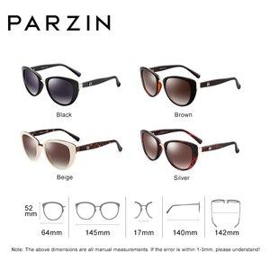 Image 4 - PARZIN Fashion eleganckie damskie okulary przeciwsłoneczne w stylu wysokiej marka jakości projektant UV400 okulary przeciwsłoneczne damskie spolaryzowane gorąca sprzedaż