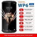 OUKITEL WP6, 6,3 дюйма, мобильный телефон, IP68, прочный, водонепроницаемый, смартфон MT6771T, 6 ГБ, 128 ГБ, Восьмиядерный, 48 МП, три камеры, мобильный телефон...