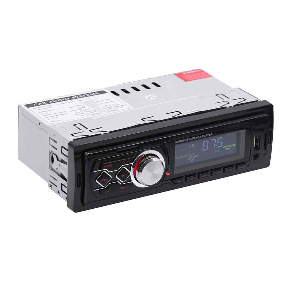 12V 1 Din auto radio Stereo Fernbedienung Digitale Bluetooth Audio Mp3 Player Fernbedienung autoradio USB/SD /AUX-IN