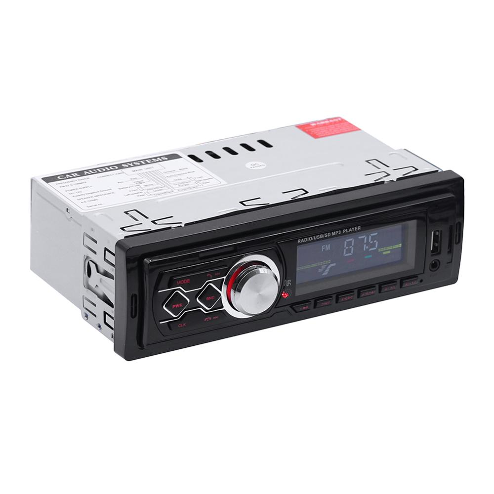 12V <font><b>1</b></font> <font><b>Din</b></font> <font><b>car</b></font> radio Stereo Remote Control Digital Bluetooth <font><b>Audio</b></font> Mp3 Player Remote Control autoradio USB/SD/AUX-IN image