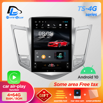 32G ROM Vertical screen android 10.0 system car gps multimedia video radio player in dash for Chevrolet CRUZE navigation stereo image