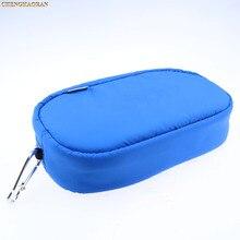 3 couleur 1pc bleu noir grande capacité doux voyage étui de protection pochette sac pour Playstation PS VITA 1000 PSV 2000 PSVITA mince