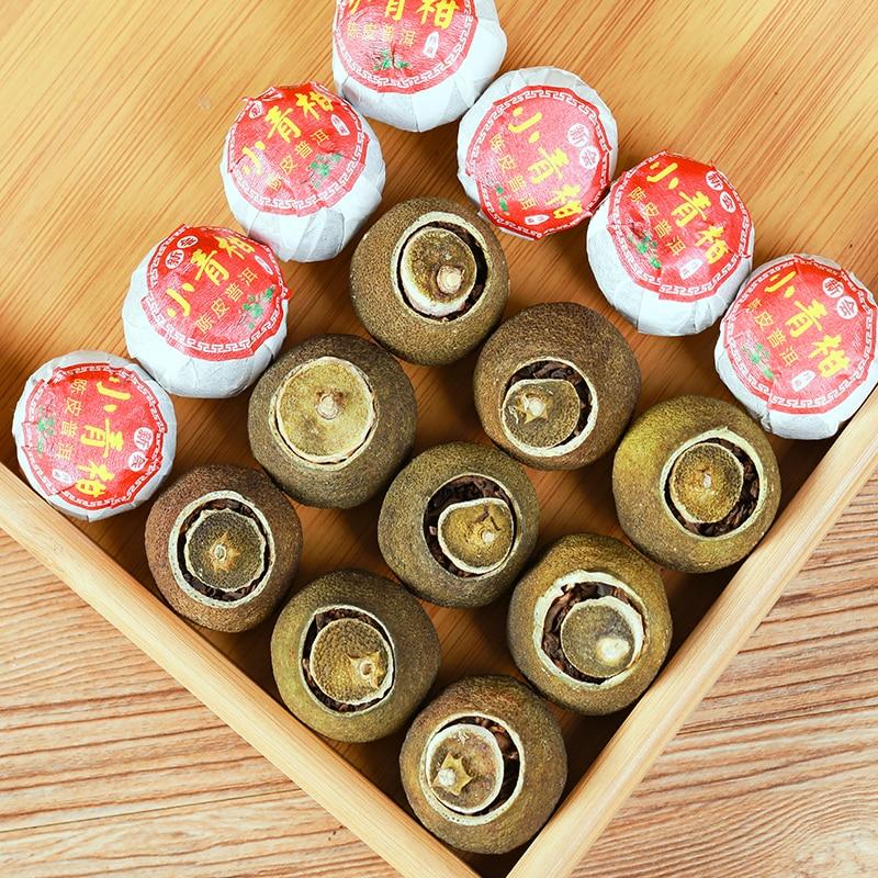 20pc Natural Plant Tea Bag Tangerine Peel Pu'er Tea Bag DIY Chinese Qinggan Pu'er Tea