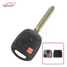 Kigoauto дистанционный ключ 3 кнопки toy43 315 МГц с чипом 4c