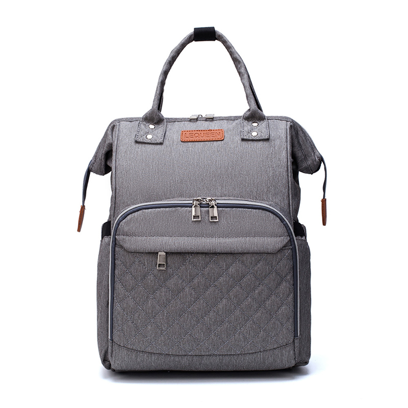Diaper Bag Fashion Mummy Maternity Nappy Bag Brand Baby Travel Backpack Diaper Organizer Nursing Bag For Baby Stroller LEQUEEN