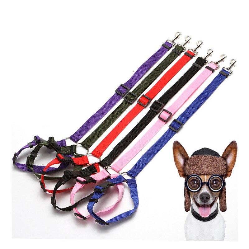 Dog Car Mounted Safety Belt Car Safety Belt For Pet Traction Rope