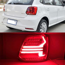 CSCSNL 1 Pair Taillight assembly tail lights LED Tail Lamp rear trunk lamp cover for VW Volkswagen Polo 2011 2019