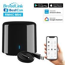 Broadlink RM Mini 3/Bestcon RM4C Mini WiFi 4G IR Remote Controller Via APP Control Smart Home Works With Alexa Echo Google Home