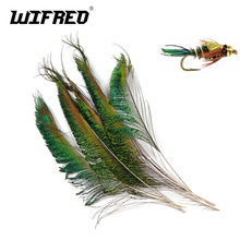 цена на [20PCS] Peacock Sword Tail Herl Feather for Fly Tying Nymphs Wet Flies Fishing Material