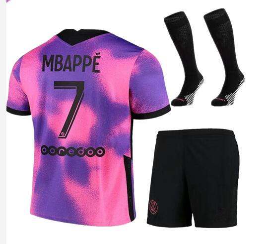KIMPEMBE nuovi uomini DI alta qualità 2021 ps kit per adulti MBAPPE vertopi MARQUINHOS NEYMAR JR DI MARIA FLORENZI UAN BERNAT shirt
