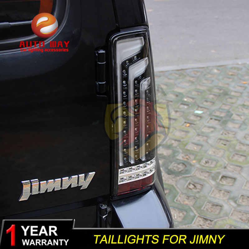 Auto Styling Case Voor Suzuki Jimny 2007-2015 Achterlichten Achterlichten Suzuki Jimny 2007-2015 Led Achterlicht Staart lamp Achterlicht