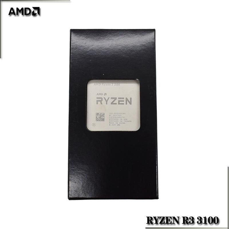 AMD Ryzen 3 3100 R3 3100 3,6 ГГц четырехъядерный восьмипоточный процессор 65 Вт L3 = 16M 100-000000284 разъем AM4