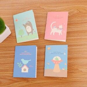 Image 4 - 40 יח\חבילה נחמד חמוד אופנה מיני ספרים/סטודנטים חמוד עותק רך פנקס קטן/מחברת cartoon/ילדי מתנה