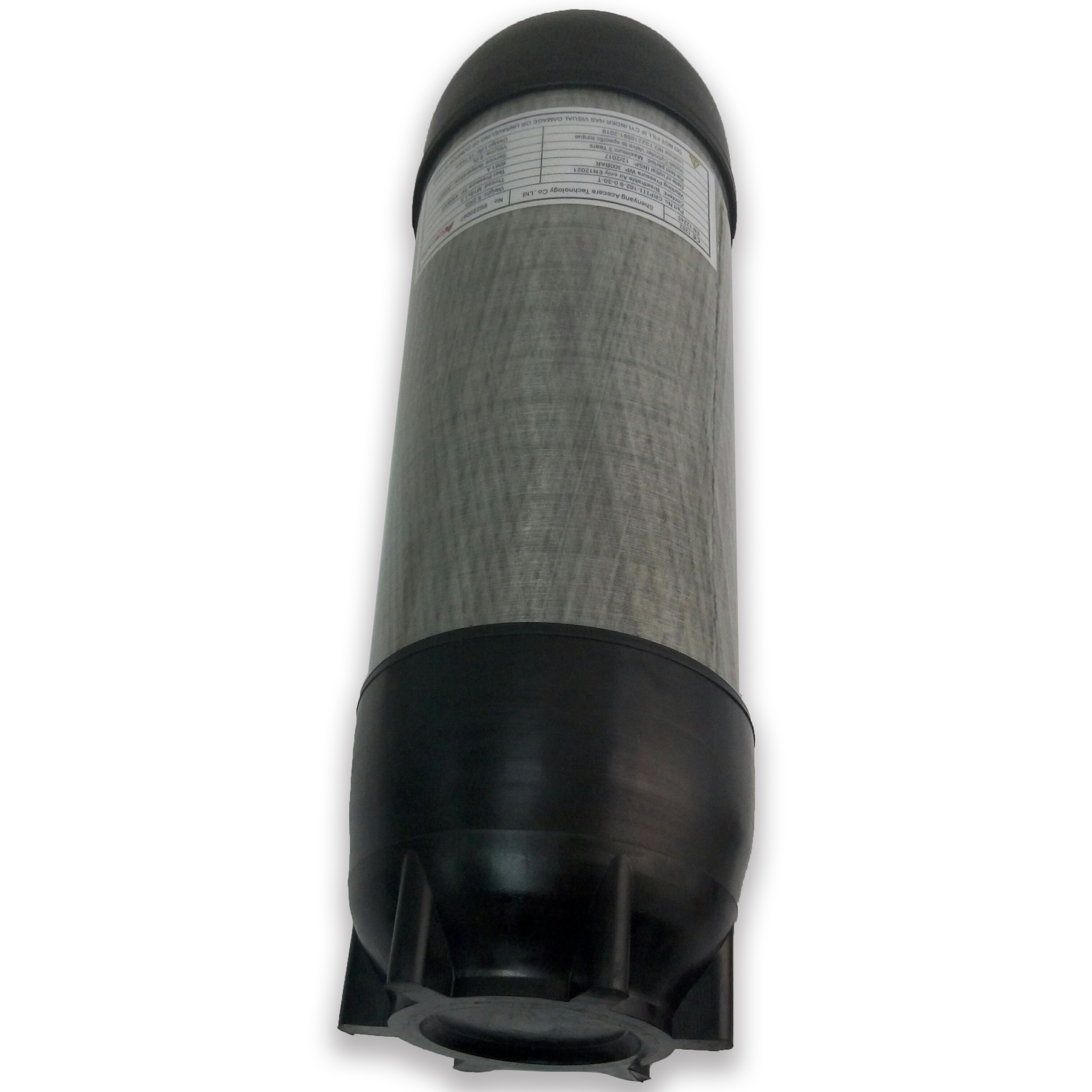 AC16891 6.8L Carbon Fiber Scba Paintball Tank Bottle Cylinder 300Bar 4500Psi Air Gun Pcp High Pressure Cylinder Underwater Gun