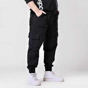 Image 4 - Plus  7XL 6XL Hip Hip Streetwear Mens Camouflage Joggers Pants 2020 Men Cargo Pant Trousers Elastic Waist Harem Pant Men