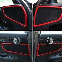 Altofalante do carro decoração Adesivo Automotivo styling interior Para MINI COOPER Countryman F60 Modificação acessórios Do Carro interior|adesivos automotivos internos| |  -