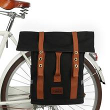 Backpack Bike-Bag Pannier-Seat-Bags School-Bag Bicycle Tourbon Shoulder Riding Vintage