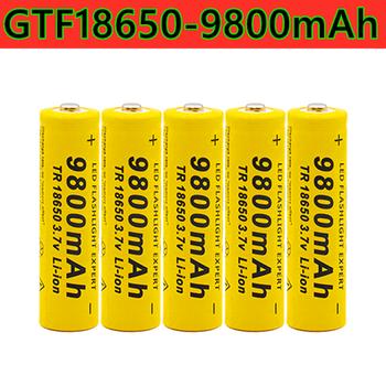 Styl 18650 bateria 3 7V 9800mah akumulator litowo-jonowy nadaje się do latarki czołowej i inne zabawki elektroniczne tanie i dobre opinie WanEnerg GTF18650-9800mAh Li-ion NONE 3500 mAh CN (pochodzenie) Baterie Tylko