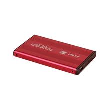 Darmowa wysyłka HDD SSD Case 2 5 SATA na USB2 0 Adapter dysk twardy obudowa dysk SSD HDD Box Case HD zewnętrzna obudowa HDD tanie tanio RCESSD Aluminium 2 5 Usb 2 0 5Gb s Windows 98 SE ME 2000 XP Vista Win7 win8 win10 Mac OS 8 6 or the latest version