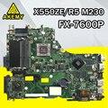 X550ZE материнская плата FX-7600 CPU для ASUS X550ZA X550Z X550 K550Z VM590Z A555Z K555Z X555Z материнская плата для ноутбука X550ZE материнская плата