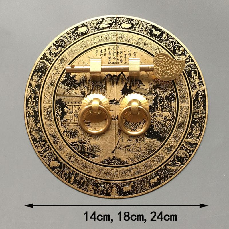 brass door handle 19