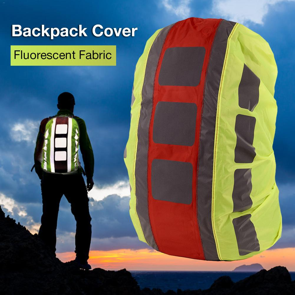 Rain Cover Backpack Reflective 20L -55L Waterproof Bag Camo Tactical Outdoor Camping Hiking Climbing Dust Raincover