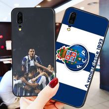 Phone Case For Porto FC Huawei P8 P9 P10 P20 P30 Black Soft TPU DIY Honor 9 V10 Y5 Y6 Y9 Y7