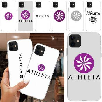 ATHLETA Phone Case Coque Fundas For Iphone X XS XR 5S 6S 7 8 PLUS SE 2020 11 12 Mini Pro Max Case Shell image