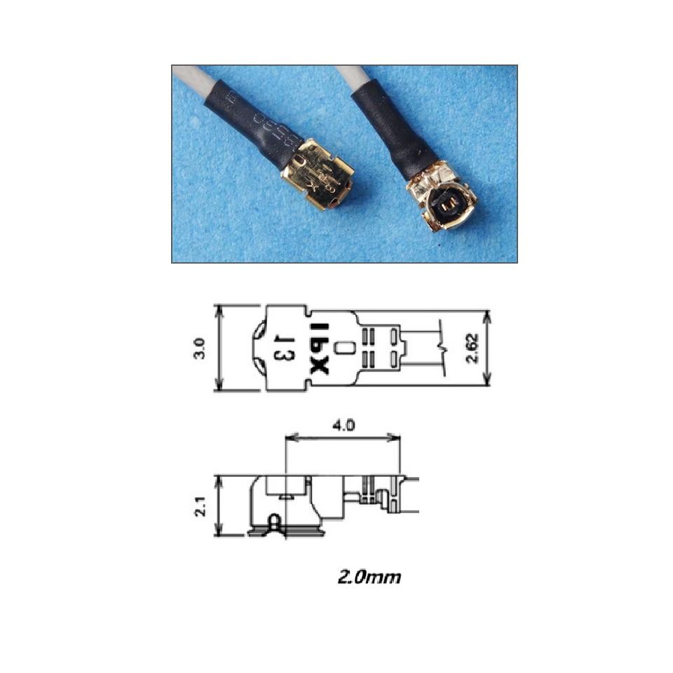 15 см IPEX 2,4G приемник антенна 1.5DBi соединитель UFL RG-113 кабель для FUTABA JR Frsky D8 Flysky X6B Перемычка R1 R8 беспилотный приемник