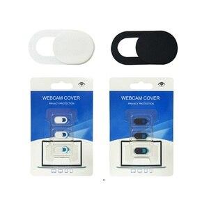 Веб-камера спуска затвора слайдер Пластиковая крышка камеры стикер для iPad телефона веб-ноутбука ПК Mac планшет конфиденциальности телефон в...