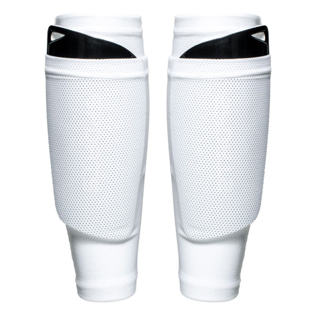 1 Pair Protective Football Games Training Support Brace Shin Guard Adults Kids Socks Sleeves Soccer Leggings Band Outdoor