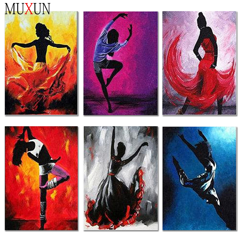 5D Full Diamond Embroidery Dancer Diamond Painting Beautiful New Arrivals <font><b>3D</b></font> Mosaic Diamond Dancer <font><b>Sexy</b></font> <font><b>Photos</b></font> Home Decor Er068 image