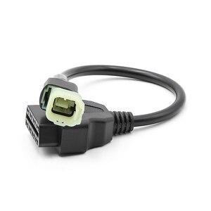 Image 5 - Nieuwste OBD2 Connector Voor Motorfiets Motobike Voor Yamaha 3pin 4pin Voor Honda 4Pin Voor Ktm 6pin Moto Obd OBD2 Extension kabel