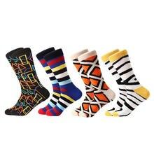 Myored 4 пар/лот 2020 новые носки мужские повседневные для деловых