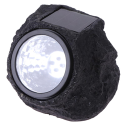 Abuo led światła zewnętrzne wodoodporna sztuczna stylizowana na kamień styl dekoracja nocna lampa zasilana energią słoneczną z czujnikiem ruchu w Zewnętrzne narzędzia od Sport i rozrywka na
